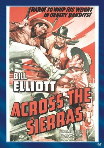Across the Sierras Poster #1