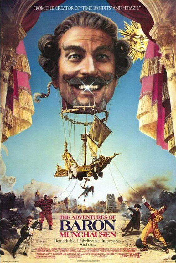 The Adventures of Baron Munchausen Poster #1