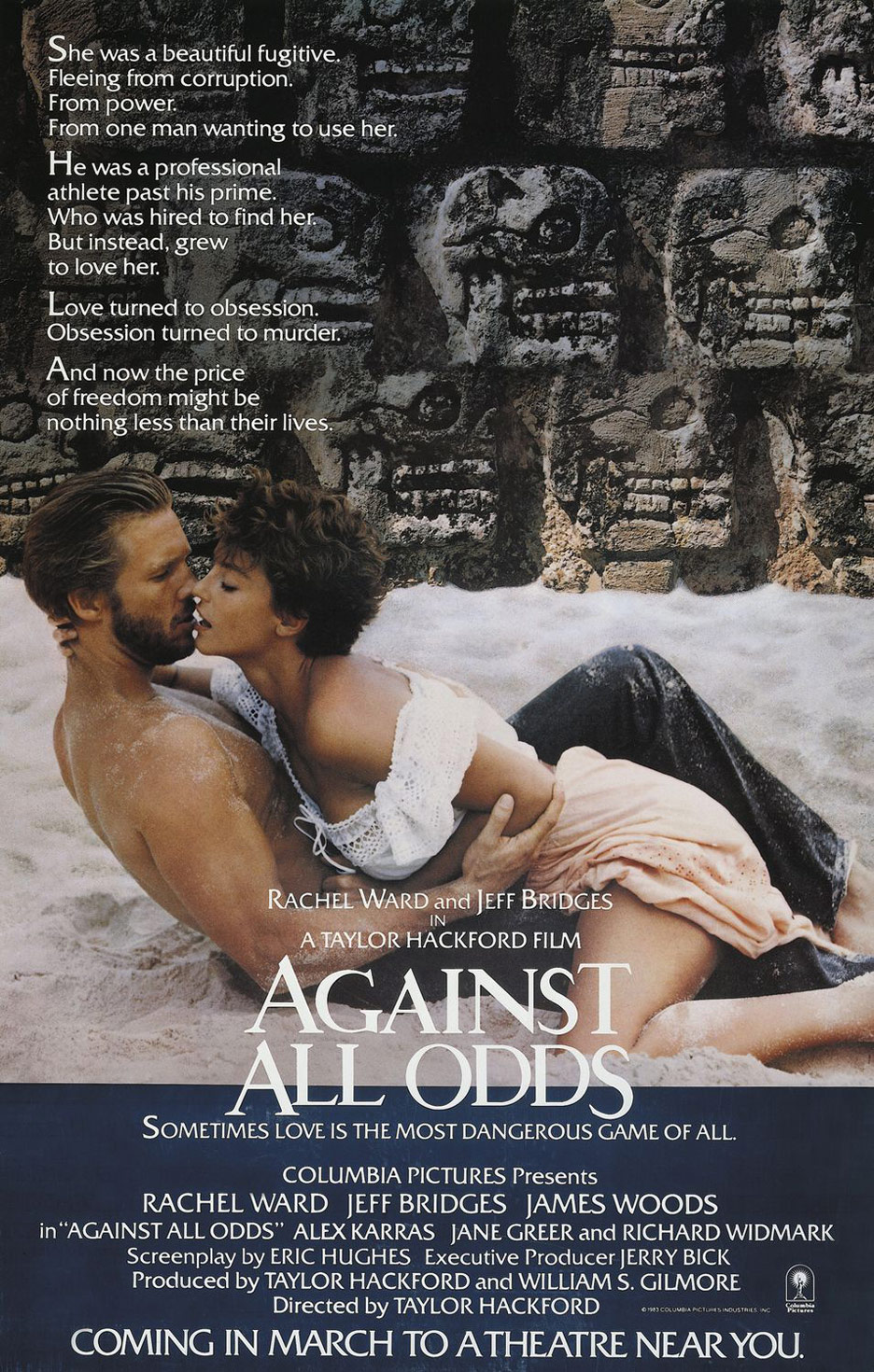 Against All Odds Poster #1