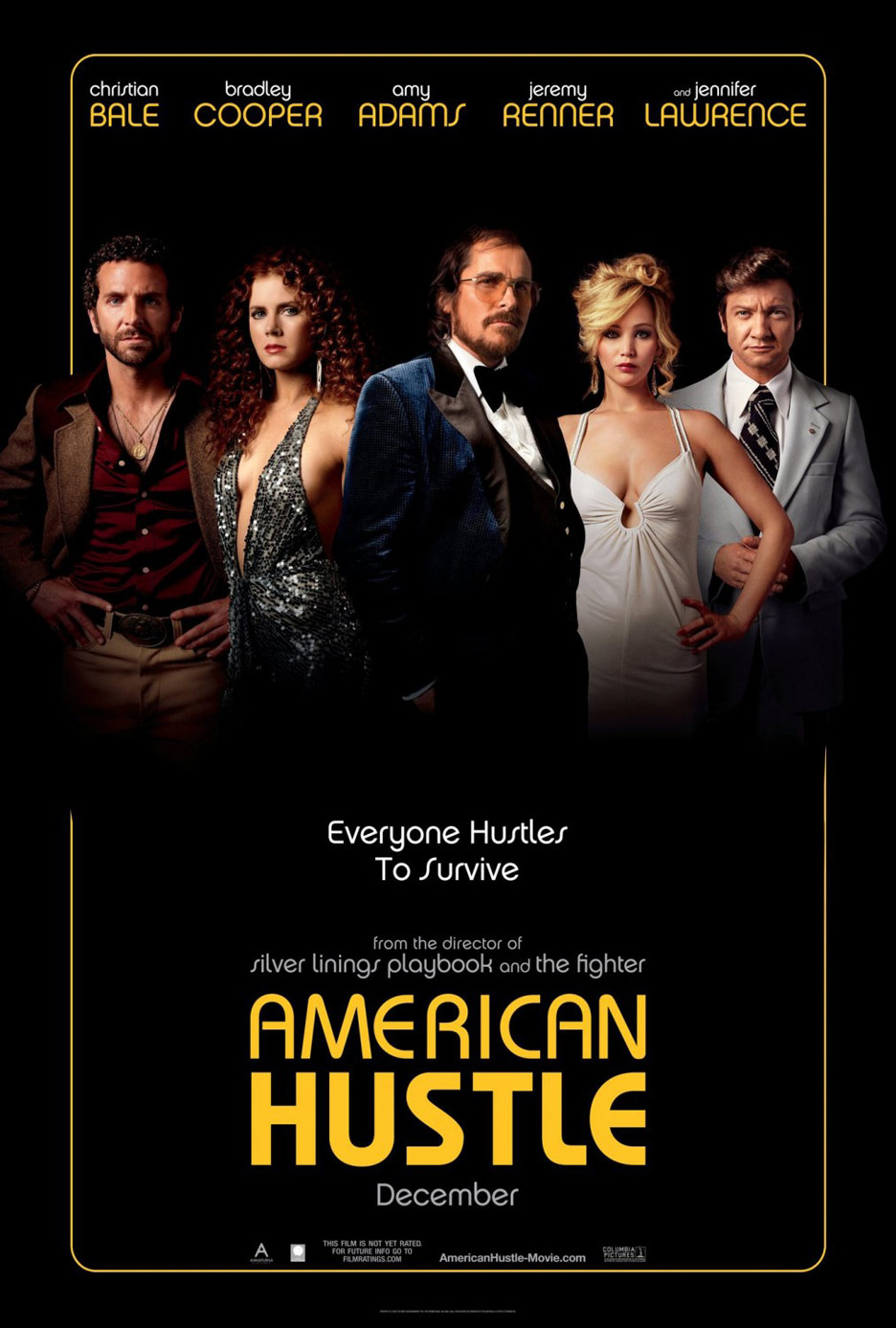 American Hustle Poster #6