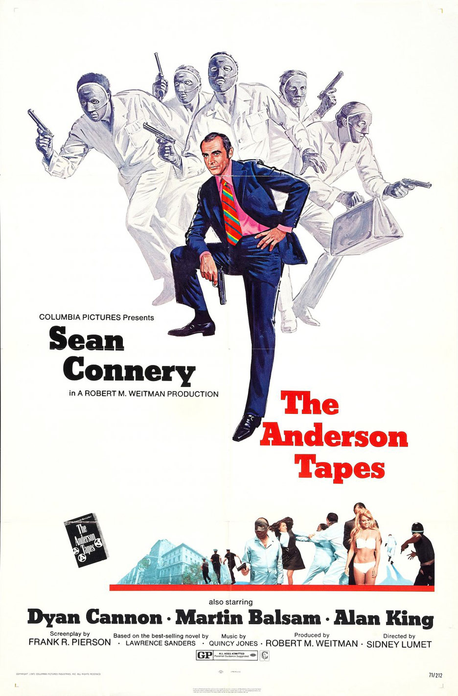 The Anderson Tapes Poster #1