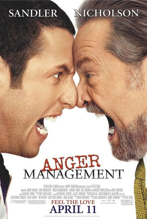 Anger Management Poster #1