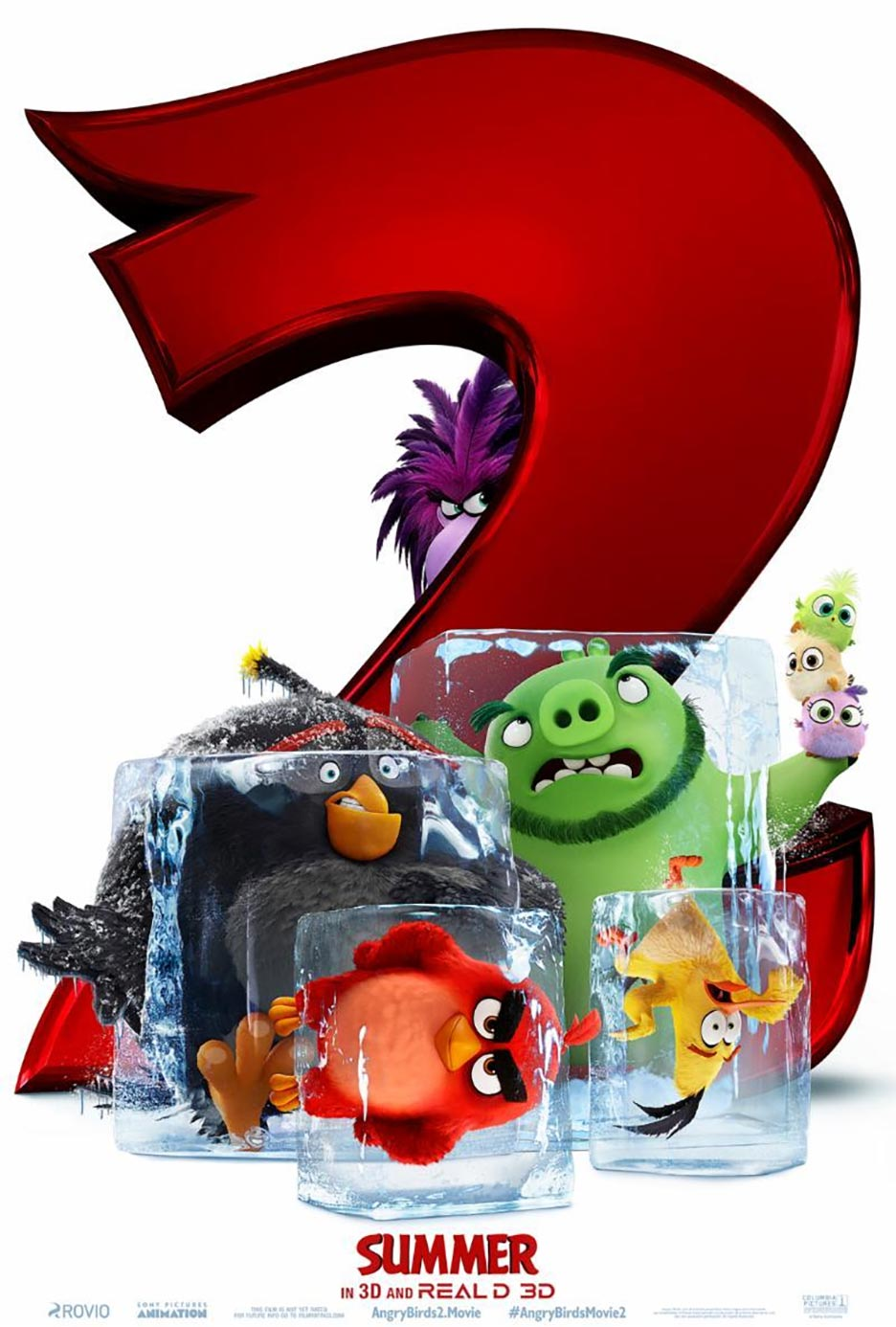 The Angry Birds Movie 2 Poster #1