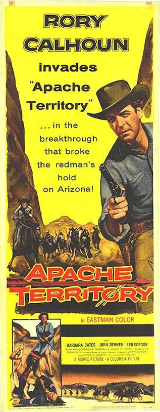 Apache Territory Poster #1