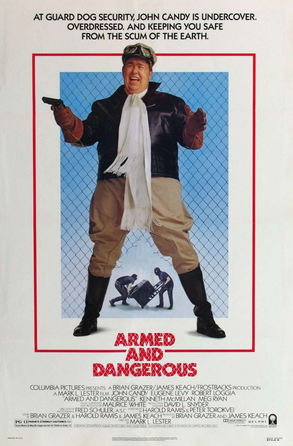 Armed and Dangerous Poster #1