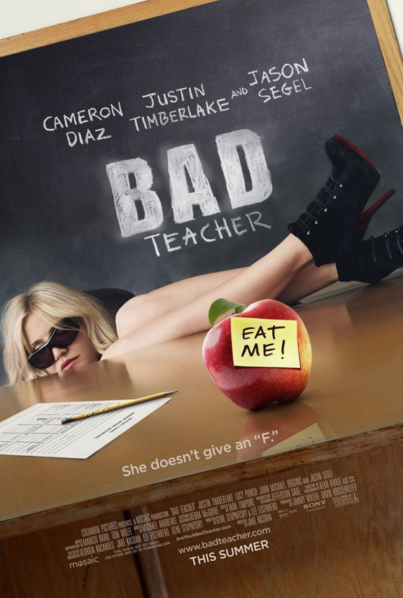 Bad Teacher Poster #1