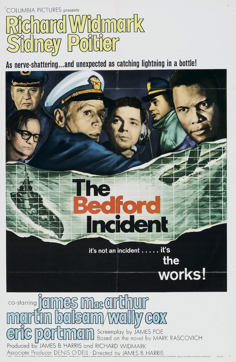 The Bedford Incident Poster #1