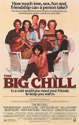 The Big Chill Poster #1
