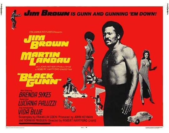 Black Gunn Poster #1