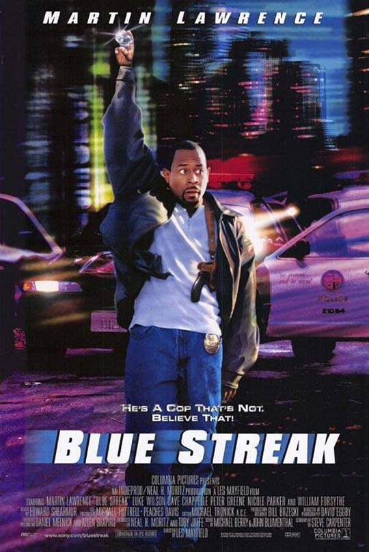 Blue Streak Poster #1