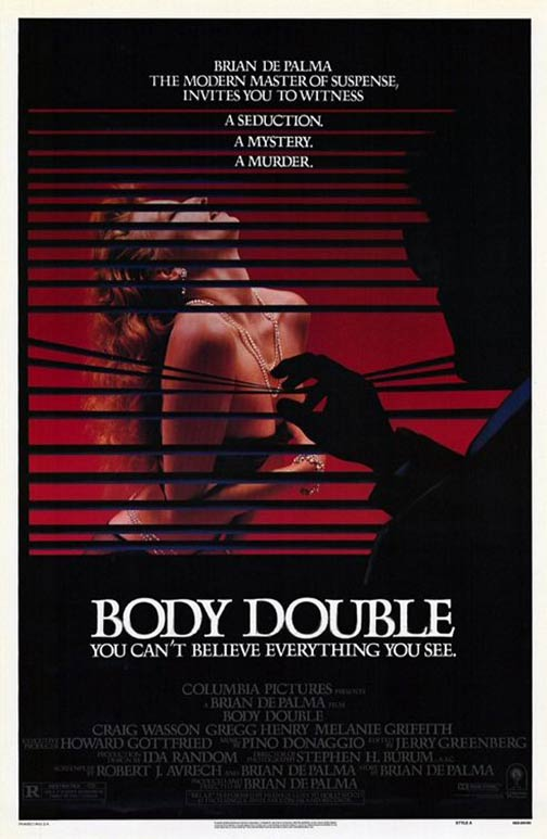 Body Double Poster #1