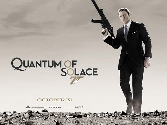 Quantum of Solace Poster #3