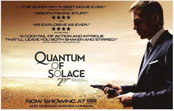 Quantum of Solace Poster #6