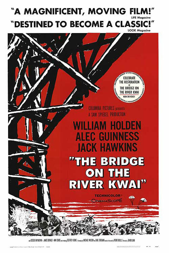 The Bridge on the River Kwai Poster #2