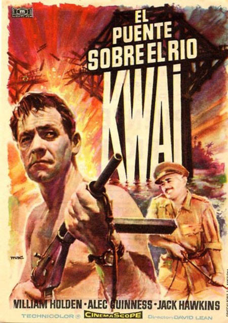 The Bridge on the River Kwai Poster #4