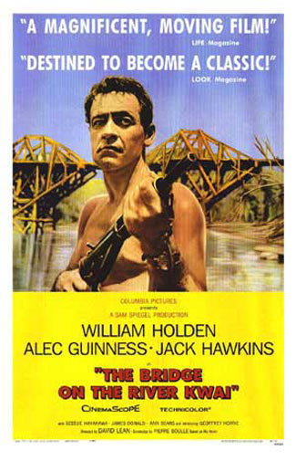 The Bridge on the River Kwai Poster #1