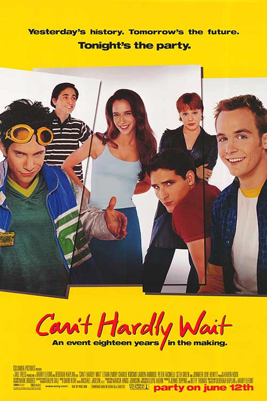 Can't Hardly Wait Poster #2