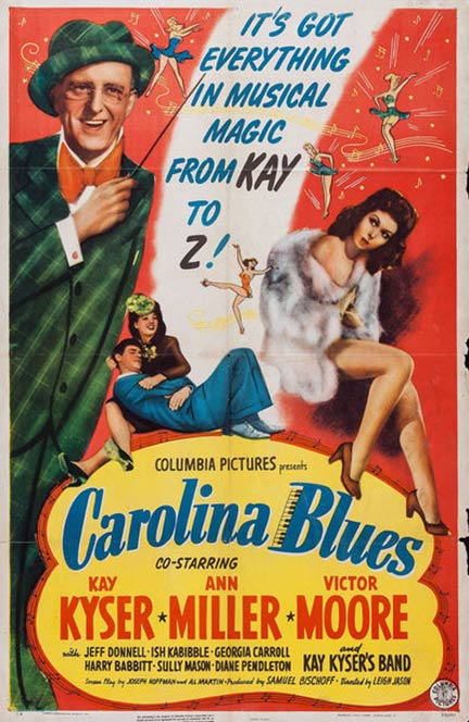 Carolina Blues Poster #2