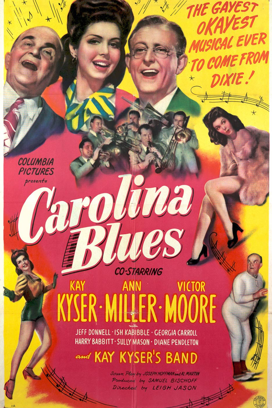 Carolina Blues Poster #1