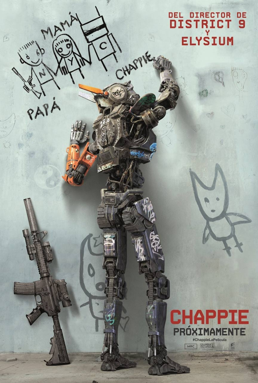 Chappie Poster #2
