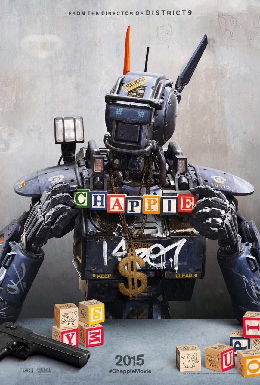Chappie Poster #1