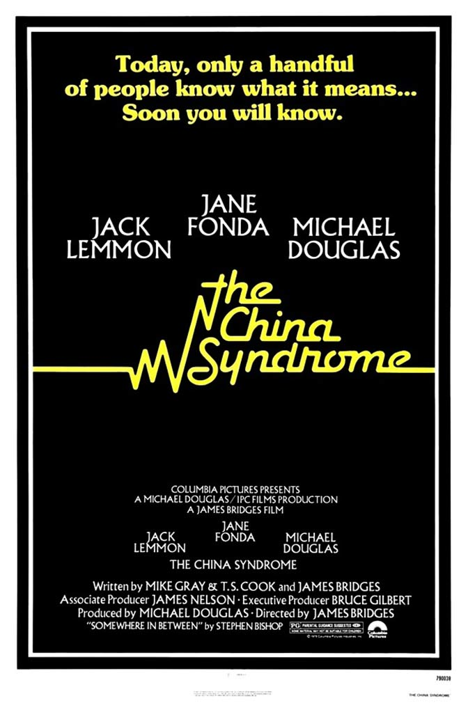 The China Syndrome Poster #1