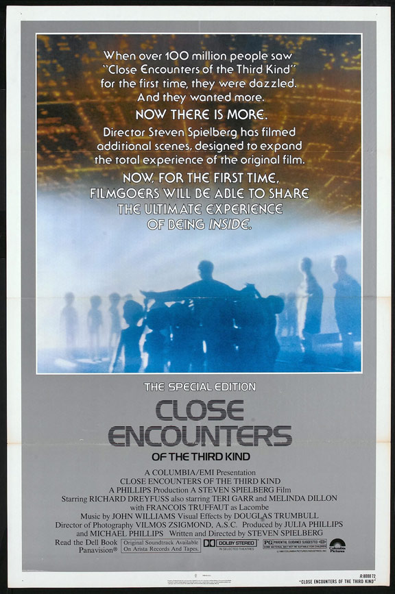 Close Encounters of the Third Kind Poster #2