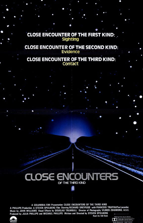 Close Encounters of the Third Kind Poster #1