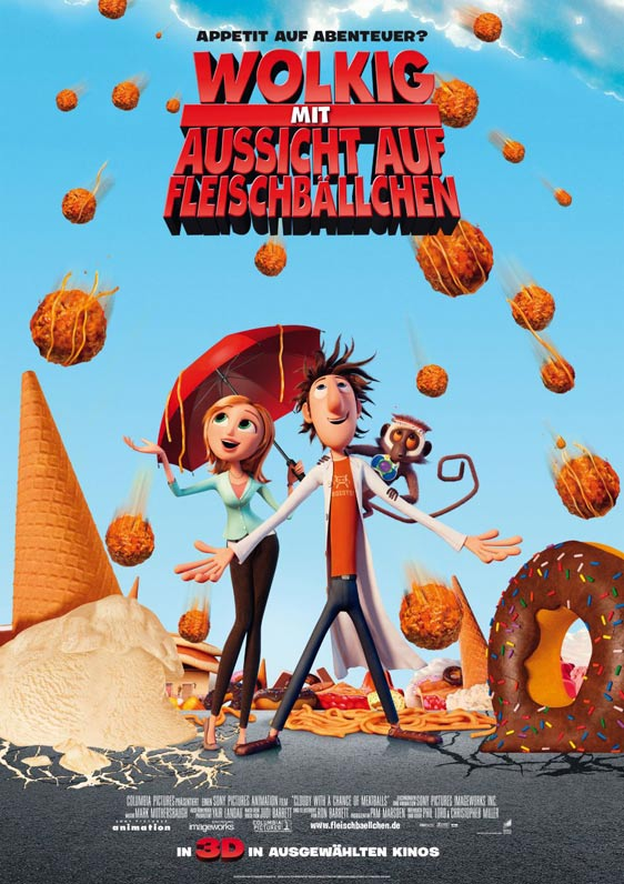 Cloudy with a Chance of Meatballs Poster #3