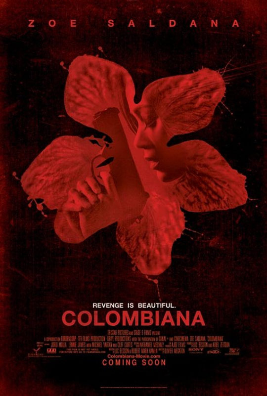 Colombiana Poster #1