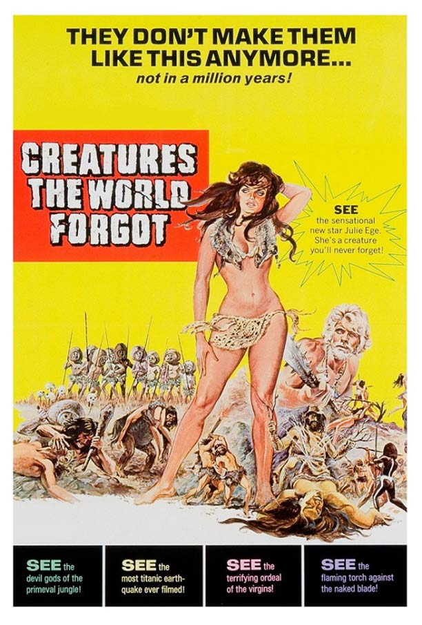 Creatures the World Forgot Poster #1