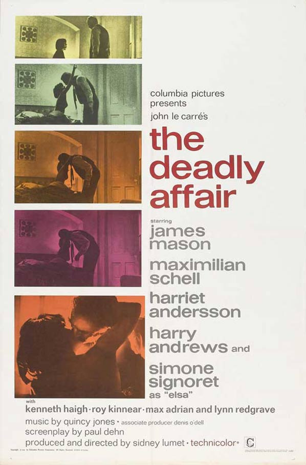 The Deadly Affair Poster #1