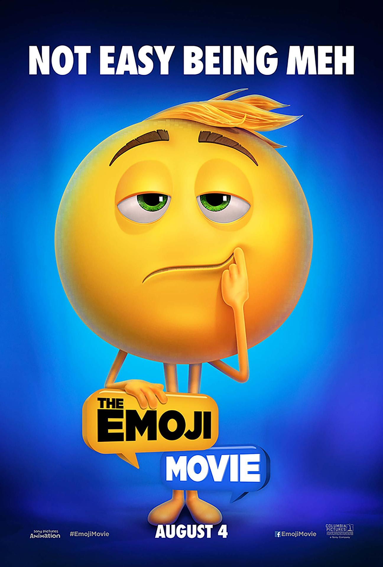 The Emoji Movie Poster #3