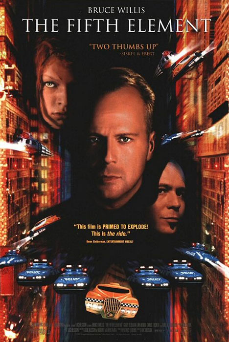 The Fifth Element Poster #1