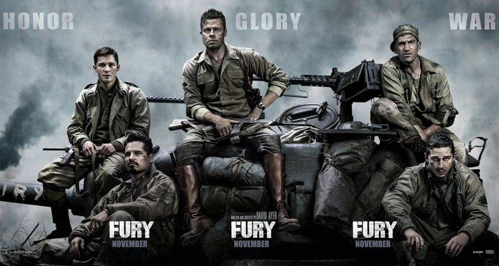 Fury Poster #2