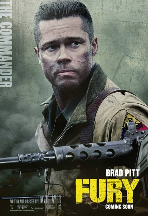 Fury Poster #7