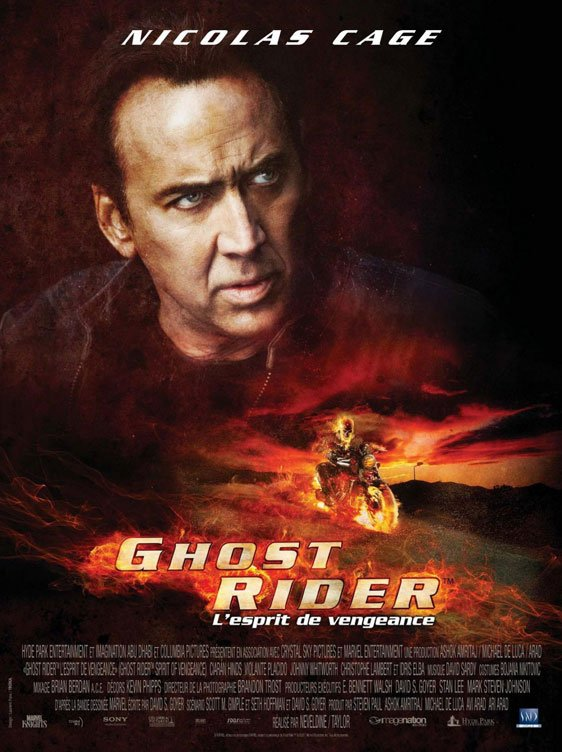 Ghost Rider: Spirit of Vengeance Poster #4