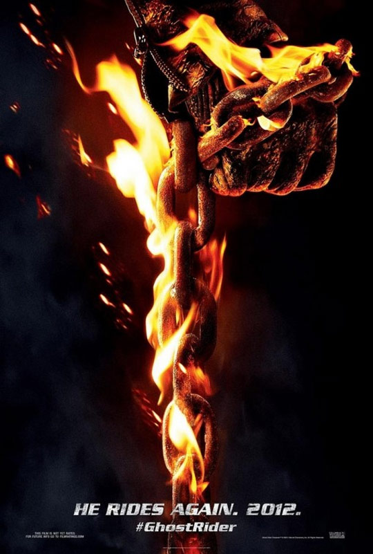 Ghost Rider: Spirit of Vengeance Poster #1