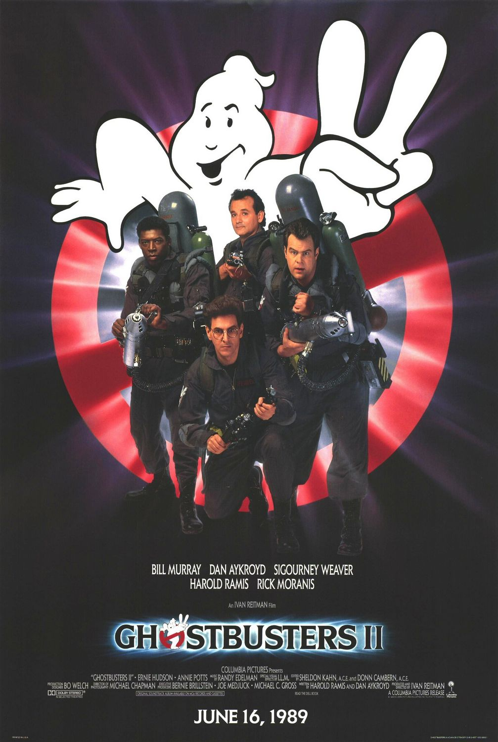 Ghostbusters II Poster #2