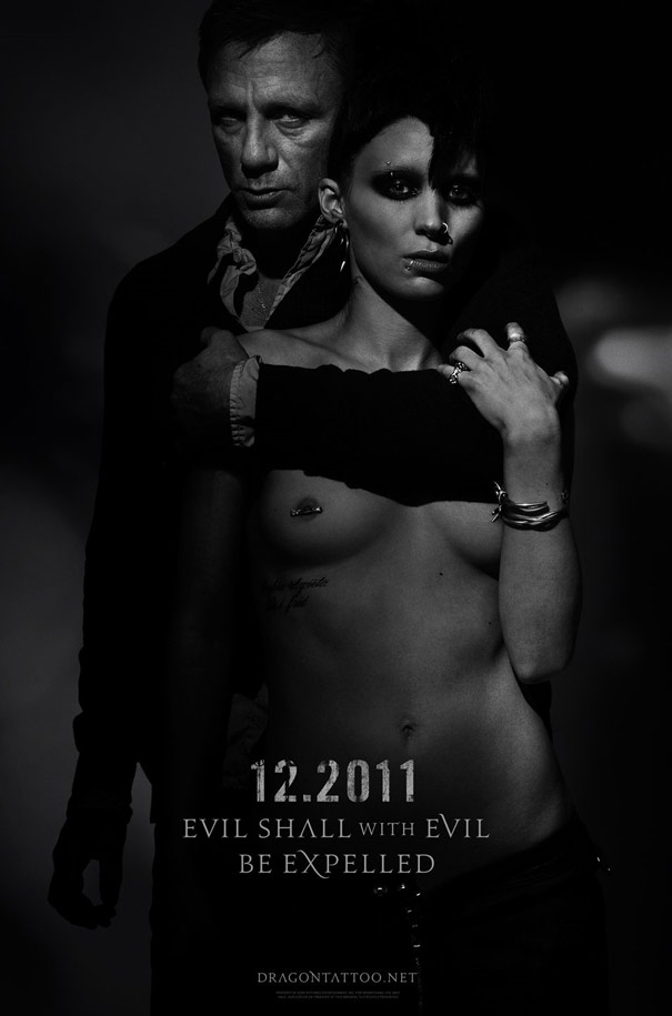 The Girl with the Dragon Tattoo Poster #3