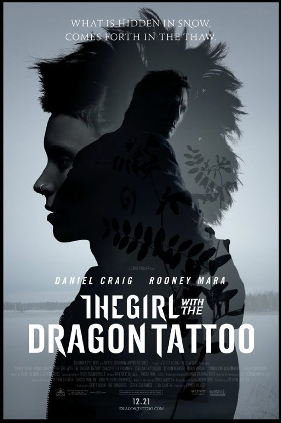 The Girl with the Dragon Tattoo Poster #4