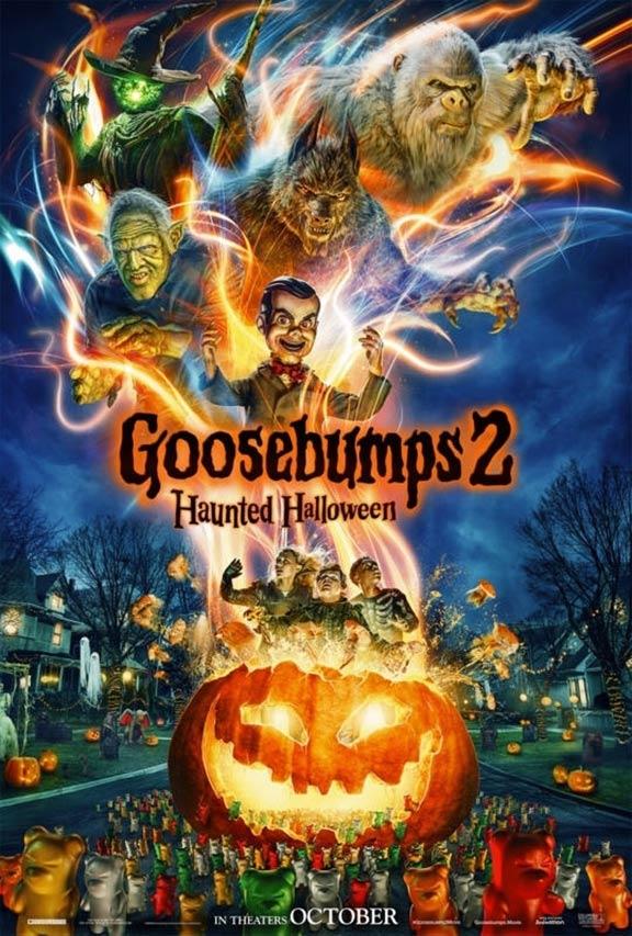 Goosebumps 2: Haunted Halloween Poster #1