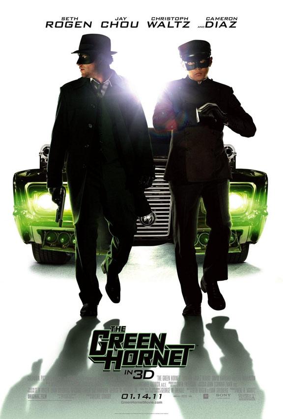 The Green Hornet Poster #4
