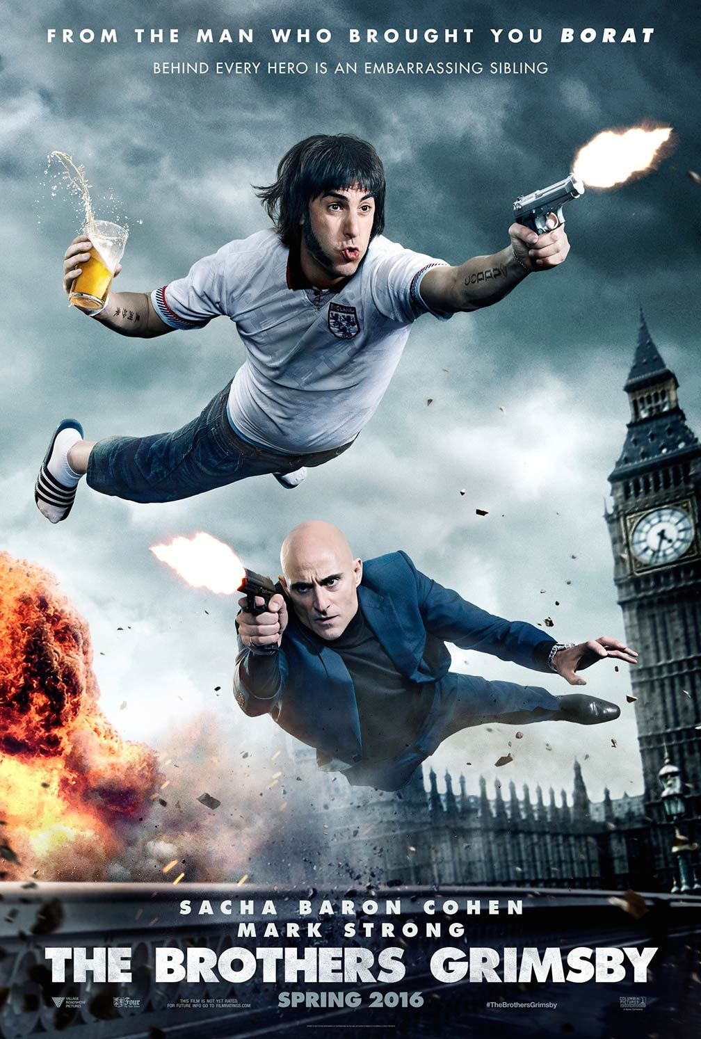The Brothers Grimsby Poster #2