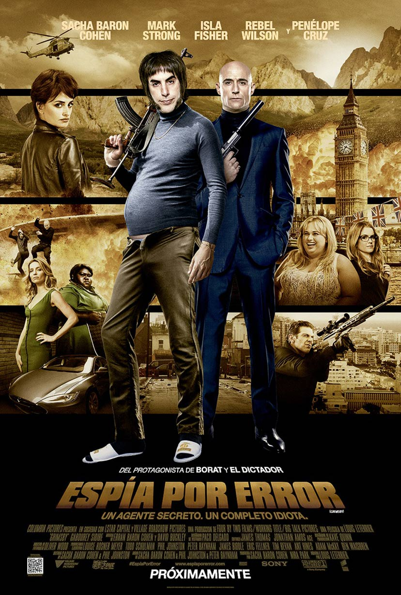 Hitman Movie Poster The Brothers Grimsby (...