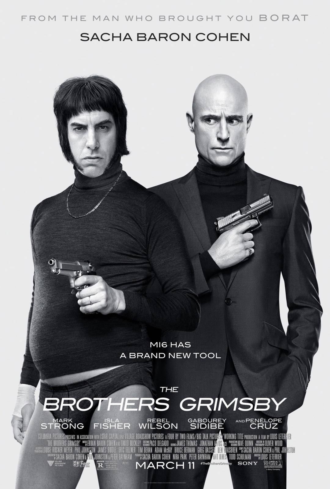 The Brothers Grimsby Poster #5