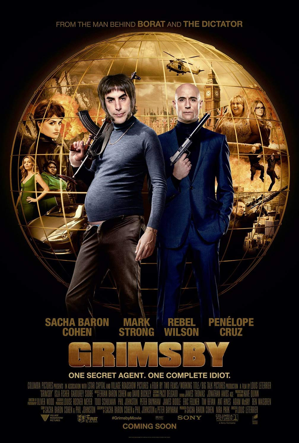The Brothers Grimsby Poster #1