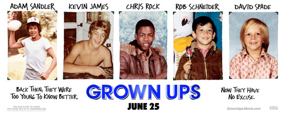Grown Ups Poster #1