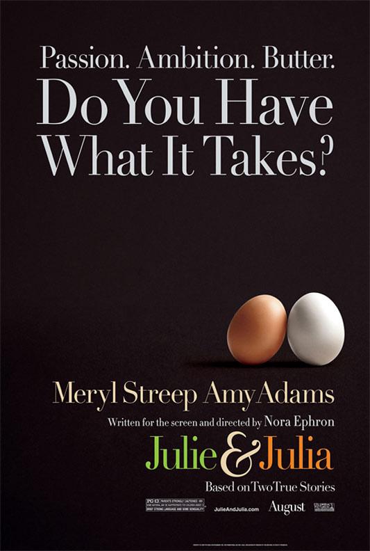 Julie & Julia Poster #1