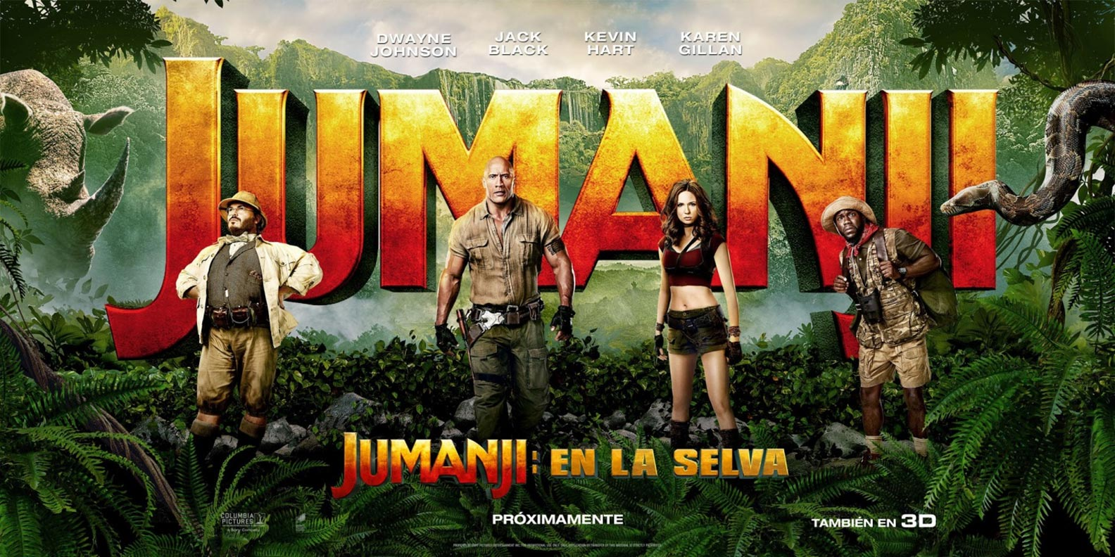 Jumanji: Welcome to the Jungle Poster #2